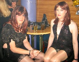 stockings and transvestites